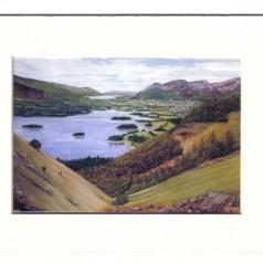 Derwent Valley. English Lakes